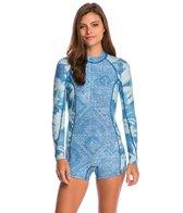 Billabong Women's 2mm Indigo Spring Fever L/S Back Zip Springsuit Wetsuit