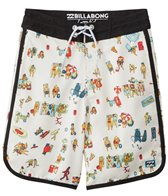 Billabong Boys' Scallop Lo Tides Boardshort (8-20)