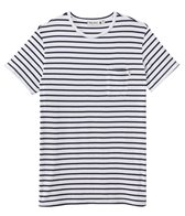 Rhythm Men's Standard Stripe Short Sleeve Tee