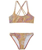 O'Neill Girls' Jet Set Multi Strap Bikini Set (7-14)