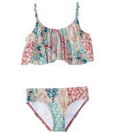 O'Neill Girls' Parker Ruffle Bikini Set (4-14)