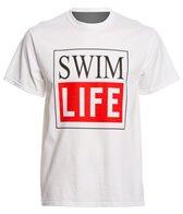 AMBRO Manufacturing Men's Short Sleeve Swim Life Swim Tee Shirt