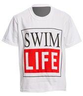 AMBRO Manufacturing Youth Unisex Short Sleeve Swim Life Swim Tee Shirt