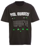 AMBRO Manufacturing Youth Unisex Pool Invaders Short Sleeve Tee Shirt