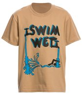 AMBRO Manufacturing Youth Unisex Swim Wet Short Sleeve Tee Shirt