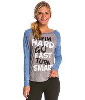 AMBRO Manufacturing Women's Swim Hard Long Sleeve Tee Shirt