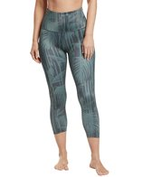 cfa67d9a0daa8 Beyond Yoga Kate Spade Cinched Side Bow High Waisted Yoga Capris at ...