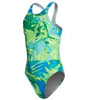 Nike Youth Tropic Fastback Tank One Piece Swimsuit