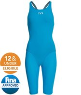 TYR Women's Thresher Open Back Tech Suit Swimsuit