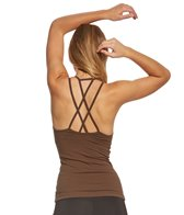 Hard Tail Double Cross Tank With Bra