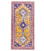 Magic Carpet Young Yogi Amethyst Traditional Kids Yoga Mat 48 6.4mm Extra Thick