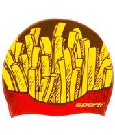 Sporti Fries Silicone Swim Cap