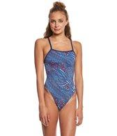 Speedo Endurance+ Women's Sprinter Switch Flyback One Piece Swimsuit