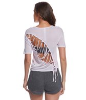 Alo Yoga Entwine Yoga Short Sleeve Top