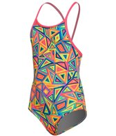 Funkita Toddler Girls' Crazy Crayon One Piece Swimsuit