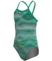 Nike Girls' Vibe Lingerie Tank One Piece Swimsuit