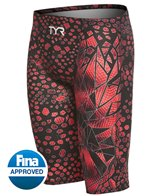 TYR Men's Avictor Venom High Waist Jammer Tech Suit Swimsuit