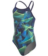 TYR Girls' Axis Diamondfit One Piece Swimsuit