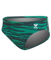 TYR Boys' Crypsis All Over Racer Brief Swimsuit