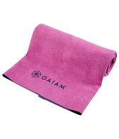 Gaiam Dual Grip Yoga Mat Towel At Yogaoutlet Com
