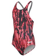 Arena Girls' Painted SwimPro Back One Piece Swimsuit