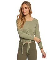 Balance Collection Renee Tie Front Layering Top