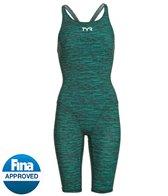 TYR Women's Thresher Baja Open Back Tech Suit Swimsuit