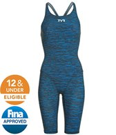 TYR Women's Thresher Baja Open Back Tech Suit Swimsuit