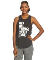Spiritual Gangster Do All With Love Burnout Studio Tank