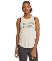 Spiritual Gangster Love Is The Answer Burnout Studio Tank
