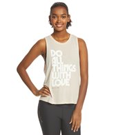 Spiritual Gangster Do All With Love Muscle Tank