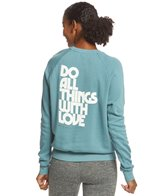 Spiritual Gangster Do All With Love Pullover