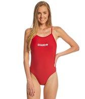 Sporti Guard Tie Back One Piece Swimsuit