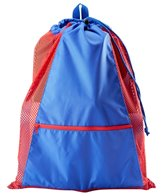 Sporti Premium Color Block Mesh Backpack