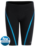 Dolfin Men's Lightstrike Bonded Regular Waist, Tight Leg, Jammer Tech Suit Swimsuit