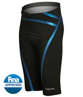 Dolfin Men's Lightstrike Bonded High Waist, Flex Leg, Jammer Tech Suit Swimsuit