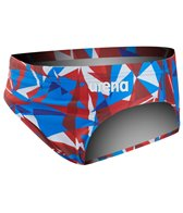 Arena Boys' Shattered Glass MaxLife Brief Swimsuit