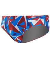 Arena Men's Shattered Glass MaxLife Brief Swimsuit