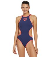 Arena Women's One Big Logo One Piece Swimsuit