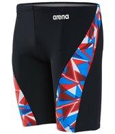 Arena Men's Shattered Glass MaxLife Jammer Swimsuit