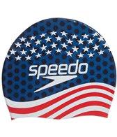 Speedo Silicone Printed Swim Caps