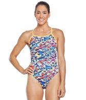 TYR Women's Mosaic Diamondfit One Piece Swimsuit