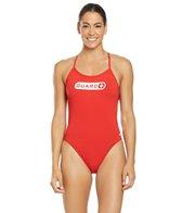 TYR Women's Guard Crosscutfit Tieback One Piece Swimsuit