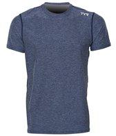 TYR Men's Vista Short Sleeve Rashguard