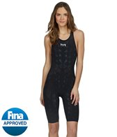 TYR Women's Venzo Genesis Open Back Kneeskin Tech Suit Swimsuit