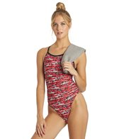 Sporti Shark Thin Strap One Piece Swimsuit