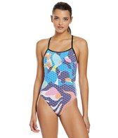 Arena Women's Paint Accelerate Back One Piece Swimsuit