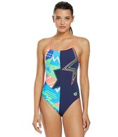 Arena Women's Lightshow Accelerate Back One Piece Swimsuit
