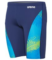 Arena Men's Palm Forest Panel Jammer Swimsuit