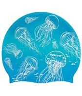 Sporti Jellyfish Silicone Swim Cap